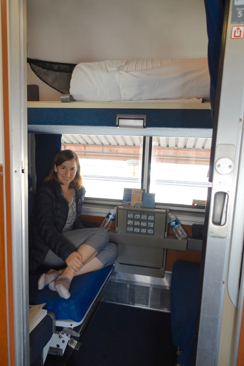 Overnight On Amtrak California Surfliner And Pacific