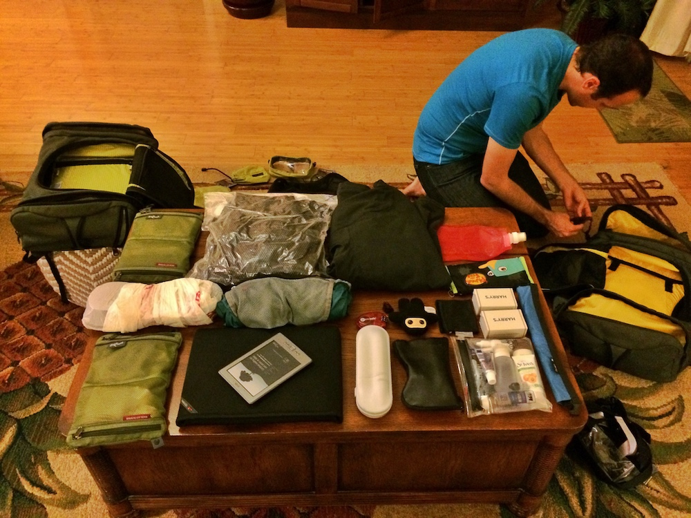 packing gear